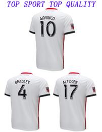 2e74a50f7 18 19 Toronto FC Soccer Jersey 2018 2019 BRADLEY MORGAN GIOVINCO OSORIO  ALTIDORE Footabll Jersey Mens Top Thai Quality White Football Shirt