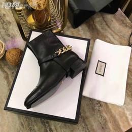 $enCountryForm.capitalKeyWord NZ - vvtisks5 LOAFER CHAIN FLAT WOMEN LOGO EMBOSS ANKLE BOOT SHOES Women Pumps Loafers Ballerina Flats Espadrilles Wedges Sneakers Boots Booties