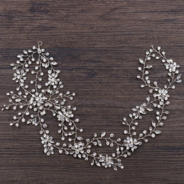$enCountryForm.capitalKeyWord NZ - Bridal accessories with 2018 new exquisite flower crystal wedding bridal hair band factory direct sale