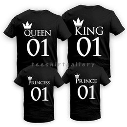 5c9d0400 Matching Couple T Shirts Canada - Father's Day Gift King Queen Crown Love  Funny Couples Matching