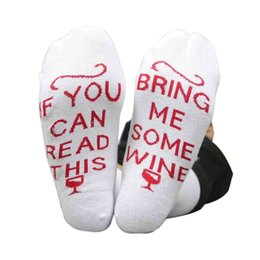 Discount cool novelty gifts - *Funny Novelty Gift TALKING SOCKS IF YOU CAN READ THIS BRING ME WINE SOCKS Gifts for Wine Lover Women Cool Gag Boyfriend
