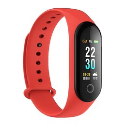 $enCountryForm.capitalKeyWord Australia - DHL Free Shipping M30 Smart Bracelet Fitness Activity Tracker Band Blood Pressure Smart Watch Step IP67 Waterproof Wristband PK Mi Band 3