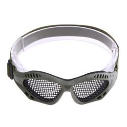 79b02ef24 Paintball ao ar livre Caça Óculos de Proteção Airsoft Net Eyewear Tactical  Óculos de Proteção Dos Olhos de Metal Esporte Óculos De Malha Caminhadas  Eyewear