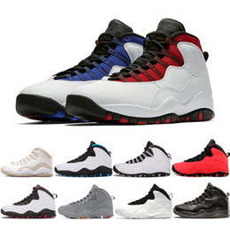 4978478c7a2 10s Westbrook 10 Basketball Shoes Chicago Cool Grey OVO Black Drake Powder  Blue Steel Steve Wiebe Mens Sports Sneakers