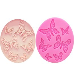 $enCountryForm.capitalKeyWord UK - M1073 Butterfly Shaped Fondant Cake Mold Silicone Mold lace pattern Mould Bakeware Baking Cooking Tools Sugar Cookie Decor