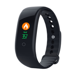 fitness monitor sleep tracker bluetooth bracelet Australia - Sport Fitness Tracker Smart bands IP67 Sleep Blood Pressure Heart Rate Monitor Bluetooth Smart Bracelet Pedometer Sports Wristbands