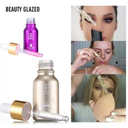Oils For Skin Australia - BEAUTY GLAZED Brand 24k Rose Gold Elixir Skin Makeup Oil For Face Essential Oil Before Primer Moisturizing Face Oil