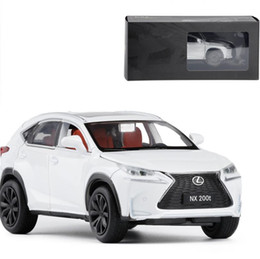 Model Car Lighting Australia - 1:32 LEXUS NX200T alloy pull back car model diecast metal toy vehicles sound&light 4 open doors Original packing,Exquisite gift
