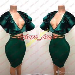 $enCountryForm.capitalKeyWord NZ - 2018 sexy cheap elegant plus size arabic green prom dress short prom dress special occasion dresses