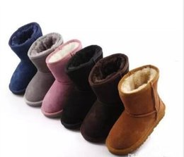 Hot SALE New Real Australia 528 High-quality Kid Boys girls children baby warm snow boots Teenage Students Snow Winter boots Free shipping