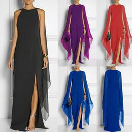 d194bc3fd3e7 oversized maxi dress 2019 - Plus Size 4XL Vintage Elegant Boho Beach  Chiffon Dress Women Summer