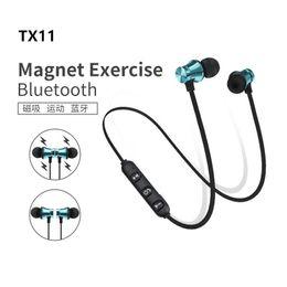 $enCountryForm.capitalKeyWord Australia - XT11 Magnet Wireless Sport Headphones BT4.2 Stereo Earphones with Mic Earbuds Bass Headset For iPhone LG Smartphones in Box