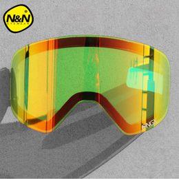 5ac7008dd6b NANDN Specialty Exchengeable Lens NG6 Original Lens Big Spherical Men Women  Graced Snowboard Ski Goggles Night Vision NG6L