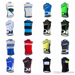 Quick Dry Shirts For Men Australia - ORBEA team Cycling Sleeveless jersey Vest hot sale men's Outdoor Quick-Dry cycling clothing for summer D2823