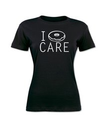$enCountryForm.capitalKeyWord NZ - Women's Tee I Donut Care Funny Women's Black T-shirt Cute Graphic Tee S - Xl Girl T Shirt Hot Sale Fashion Personality Women Top Tee