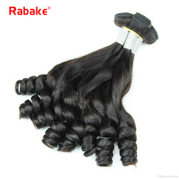 Discount funmi hair bundles - Aunty Funmi Boucy Curls Peruvian Remy Human Hair Weave Bundles Rabake Funmi Hair Egg Curls Romance Styles Hair Extension