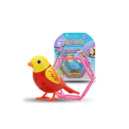 singing birds toys UK - Sound Voice Control Activate Chirping Singing Bird Funny Kids Child Gift Toy D40