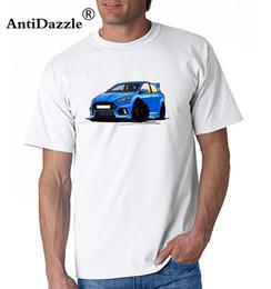 $enCountryForm.capitalKeyWord Australia - T Shirt Men Car Ford Focus Mk3 RS Blue Men's Round Neck Short Sleeve Tee Classical Men's Cool T Shirts