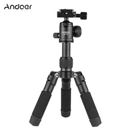 tripod stand for dslr 2018 - Andoer BC-30 Mini Tabletop Tripod Stand with Ball Head 1 4 Quick Release Plate for Canon Nikon Sony A7 DSLR Camera Smart