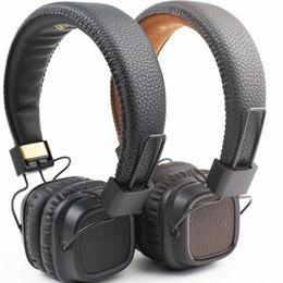 Iphone II online shopping - Marshall Major II Bluetooth for iPhone Samsung Smart Phone Headphone HiFi Headset Professional DJ Monitor over ear Headphone