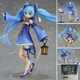 China Hatsune Miku Snow Miku Twinkle action figure Toy Collection Moveable Movie Anime lovely cartoon cute nice girl electronic pet cheap snow hatsune miku action figure suppliers