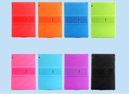 """waterproof tablet china 2019 - Case For Huawei MediaPad T3 10 AGS-W09 L09 L03 9.6"""" child Tablet Thickening Shockproof Silicone stand Back cover ca"""
