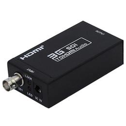 HDMI SDI Conversor 3G Full HD 1080 P SDI para HDMI Adaptador Conversor de Vídeo com Adaptador de Energia para Monitores de Condução em Promoção