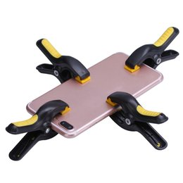Wholesale 4pcs Plastic Clip Fixture LCD Screen Fastening Clamp For Iphone Samsung iPad Tablet Cell Phone Repair Tool Kit