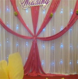 Backdrops wedding Background online shopping - Wedding Ceremony Backdrop Champagne Color Stage Decor Fashion High Grade Background Wall Banquet Fold Creative Celebration Flexible sm jj
