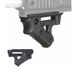 Poignée antiglisse ergonomique ergonomique sur rail NOIR pour poignées Picatinny Weaver Rails BK en Solde