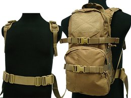 3l Hydration Backpack NZ - Tactical Molle 3L Hydration Pack Water Backpack Camping Hiking Hunting Bag 090 Tan