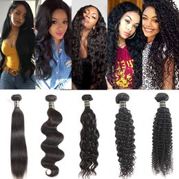 $enCountryForm.capitalKeyWord Australia - Onlyou Hair® Vendors Brazilian Virgin Human Hair Weaves Closure 1 Sample Straight Body Deep Kinky Curly Human Hair Bundles with Lace Frontal