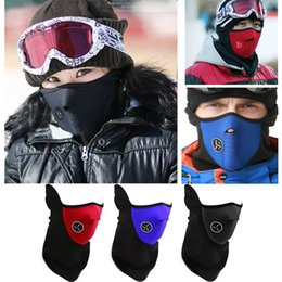 $enCountryForm.capitalKeyWord NZ - Motorcycle Half Face Mask cold winter windproof face mask Ski Mask Warm Winter Neck Guard Scarf
