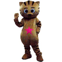 picture cartoon cat NZ - cat Mascot Costumes Cartoon Character Adult Sz 100% Real Picture 0088