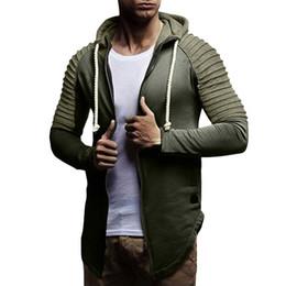 Discount slim fit pullover hoodie men - Mens' Autumn Winter Long Sleeve Patchwork Zipper Hoodie Pullover Blouse Tops Jacket Plus Size Slim Fit Male Zipper