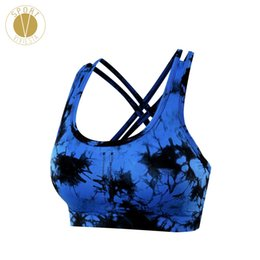 48d3c88ff Classic Criss Cross Sports Bra - Women s Yoga Train Gym Run Active Back  Strap Strappy Medium Support Crop Top Removable Cups
