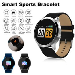 Q8 Smart Watch Australia - Q8 Smart Watch Men Women Waterproof Sport Tracker Fitness Bracelet Smartwatch Wearable Device Smartband Fashion