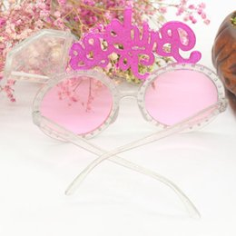 Bling Party Decorations Australia - New Bachelorette Hen Party Supplies Bride To Be Glasses Pink Bling Diamond Ring for Wedding Party Decoration Night Party Favors