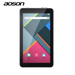 7 Wifi Tablet Australia - New 7 inch Tablets PC Aoson M751 1G 8G Android 5.1 PCs Tablets Quad Core IPS Screen 1024*600 Bluetooth Dual Cameras OTG FM WiFi