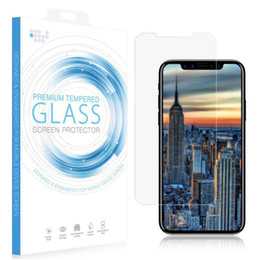 Iphone Glass Screen Guard Australia - Tempered Glass Screen Protector for iPhone X 8 7 Plus Guard Protective Clear Premium 9H 0.33MM Arcing for iPhone Xs Max XR