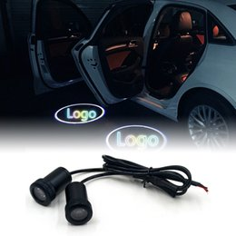 Car Door Welcome Lights For Bmw Vw Honda Toyota Audi Ford Hyundai Mercedes Logo Led Laser Projector Attractive Designs; Car Lights Automobiles & Motorcycles