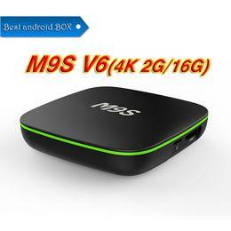 $enCountryForm.capitalKeyWord NZ - Quad Core M9S V6 4K RK3229 TV Box Android 7.1 2GB 16GB BT 4K Media Player IPTV Box PK S8 Pro MXQ PRO 4K X96 MINI