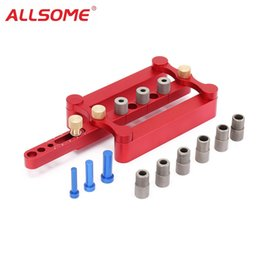 Tools For Drill Australia - ALLSOME Self Centering Dowelling Jig Metric Dowel 6 8 10mm Drilling Tools for Wood Working Woodworking Joinery Punch Locator