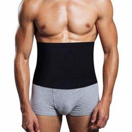 640875b908 Hot Mens Absorb Sweat Compression Body Shapers Belt Newest Waist Cinchers  Waist Slimmin Fat Burning Underwear Slim Corsets