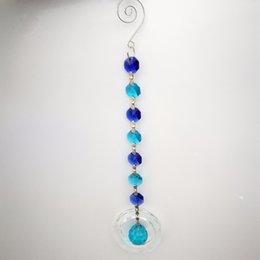$enCountryForm.capitalKeyWord NZ - 5pieces Lighting Prisms Round Pendants K9 Crystal Hanging Crystal Suncatchers For Window Suncatcher Lustre Crystals