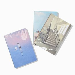 Chinese  A5 Cute School Notebook Journal Kawaii Dotted Notebook Dots Journal School Office Stationery Personal Diary Book manufacturers