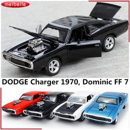 Discount dodge toys - 1:32 Fast&Furious 7 Dominic's Dodge Charger Alloy Diecast Car Metal Classic Models Diesel 1970 Pull Back Car Toys G