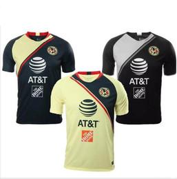8ba55e5f79d51 NEW Arrived 2018 LIGA mexico Club America soccer Jerseys home away Third  Green Yellow 18 19 O.Peralta football shirts Camisetas
