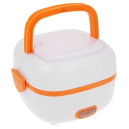 Steam heating online shopping - H19333C Multifunctional Mini Rice Cooker Electric Meal Box Thermal Insulation Lunch Box Electric Heating Egg Steamer Travel Cookers