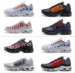 Discount air plus shoes - New 2018 France World Cup Chaussures Homme Air TN Maxes Plus SE NIC QS Men Running Shoes 270 Basket TN Requin Sports Sho